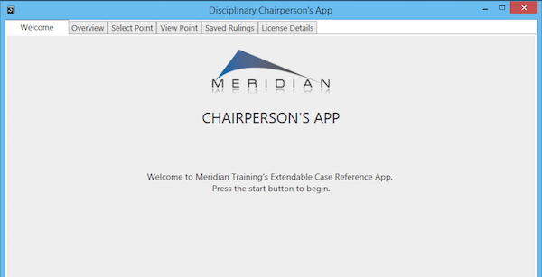 Chairperson's App